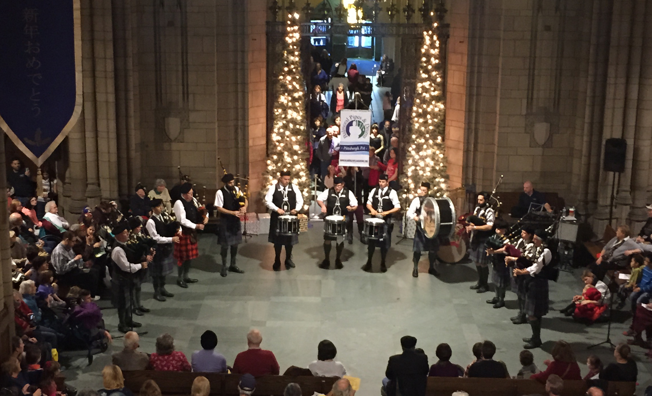 Balmoral Pipes & Drums will be performing at Pittsburgh's First Night